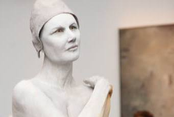 Amelia   62x18x10 - Susannah Zucker Contemporary Ceramic Clay Sculpture Art