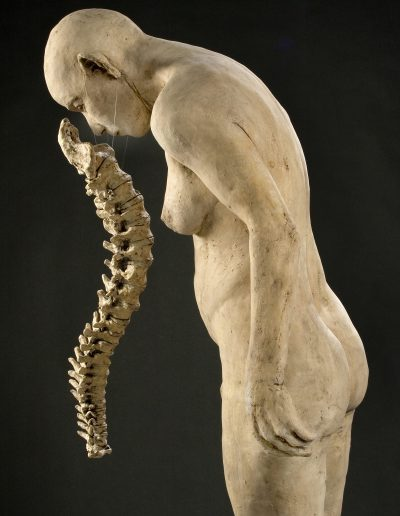 Boned   62x26x22 - Susannah Zucker Contemporary Ceramic Clay Sculpture Art